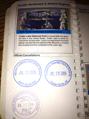 A page in our NP Passport