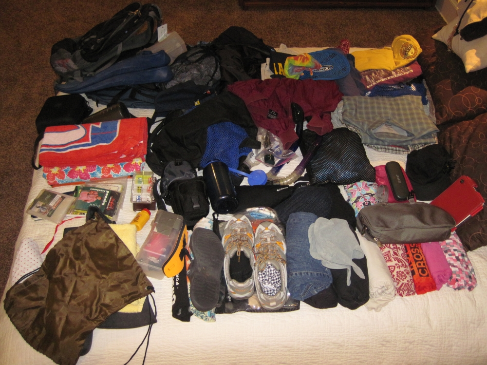 Packing for Two Climates in Nothing But Carry-Ons?  Nailed It! (1/2)