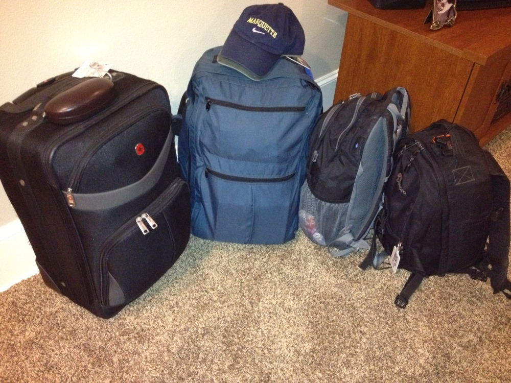 Packing for Two Climates in Nothing But Carry-Ons?  Nailed It! (2/2)