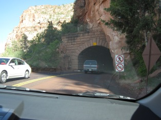 The 1.1-mile tunnel is the link between Zion's center and east side.