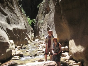 Zion Narrows canyon