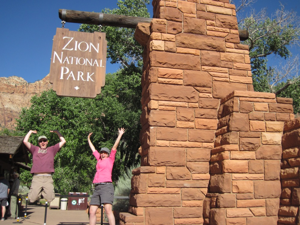 Hiking A-Z: Our Anniversary in Zion (1/6)
