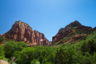 Zion's Navajo sandstone