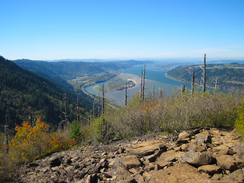 Angel's Rest Hike in the Columbia River Gorge (1/4)