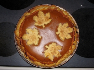 Yummm! Pumpkin pie!