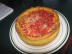 Sausage pizza.  Seriously deep dish!
