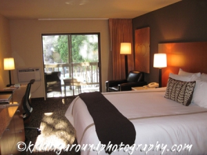 Our room at Resort at the Mountain near Oregon's Mt. Hood - a great deal from Travelzoo