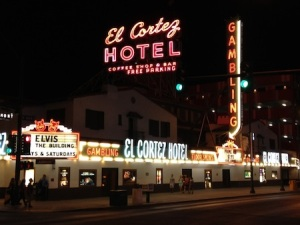 Downtown Vegas's El Cortez Hotel