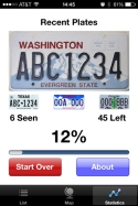 license plate game