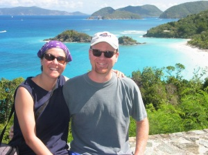 Where we WISH we could go on a fee free day, Virgin Islands NP, 2004