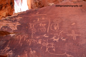Petroglyphs - Valley of fire SP