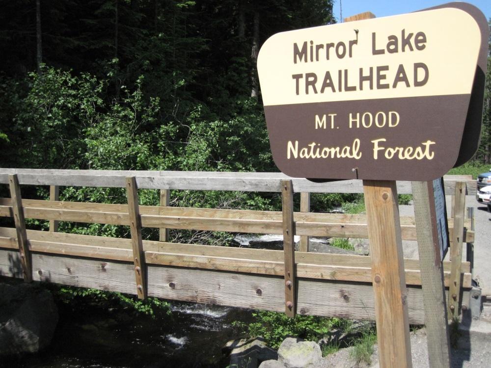 Mirror, Mirror, on the mountain:  Oregon's Mirror Lake (1/6)
