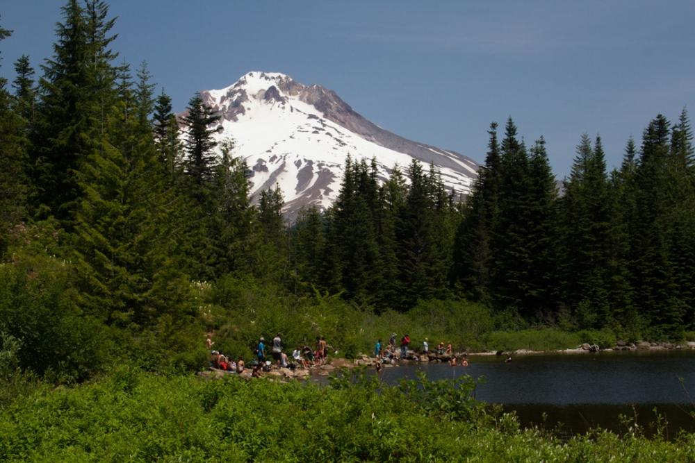 Mirror, Mirror, on the mountain:  Oregon's Mirror Lake (5/6)