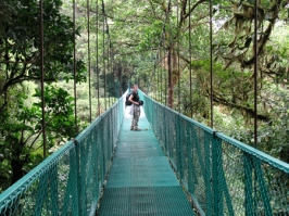 Selvatura hanging bridges, Monteverde Costa Rica