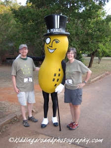 Who better to greet you at the Plains Peanut Festival?!?