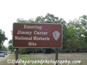 Jimmy Carter NHS Sign