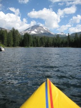 Kayaking Lassen's Manzanita Lake