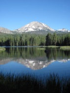 One of Lassen's beautiful lakes