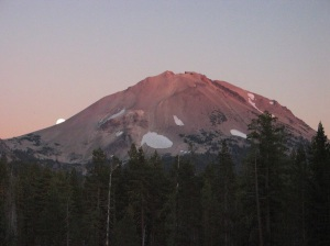 Moonrise at Lassen