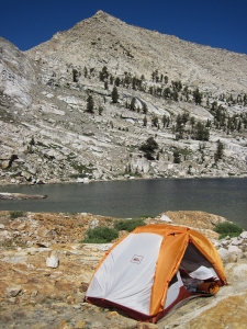 Franklin Lakes campsite