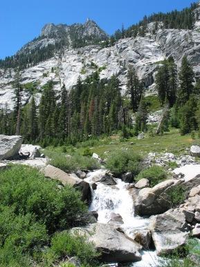 Bubbs Creek in Kings Canyon NP
