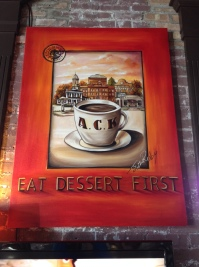 Eat dessert first, indeed!