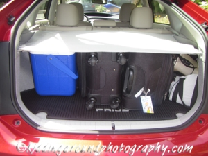 Luggage in the Prius