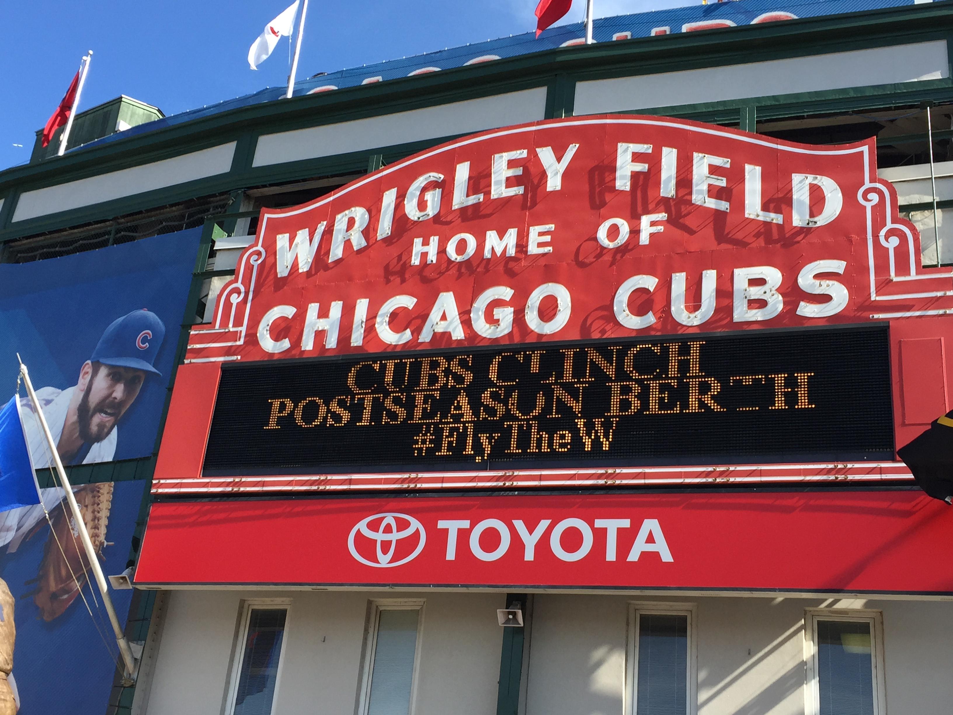 b4cf97de85d Go Cubs Go — Exploring Wrigleyville in Chicago
