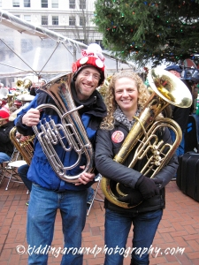 Stars of Tuba Christmas!