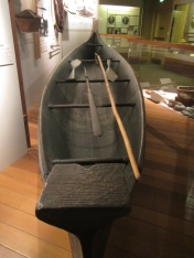 Replica of a Lewis & Clark canoe