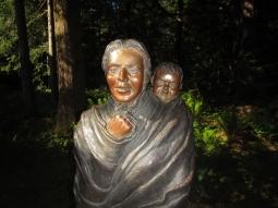 Sacagawea statue