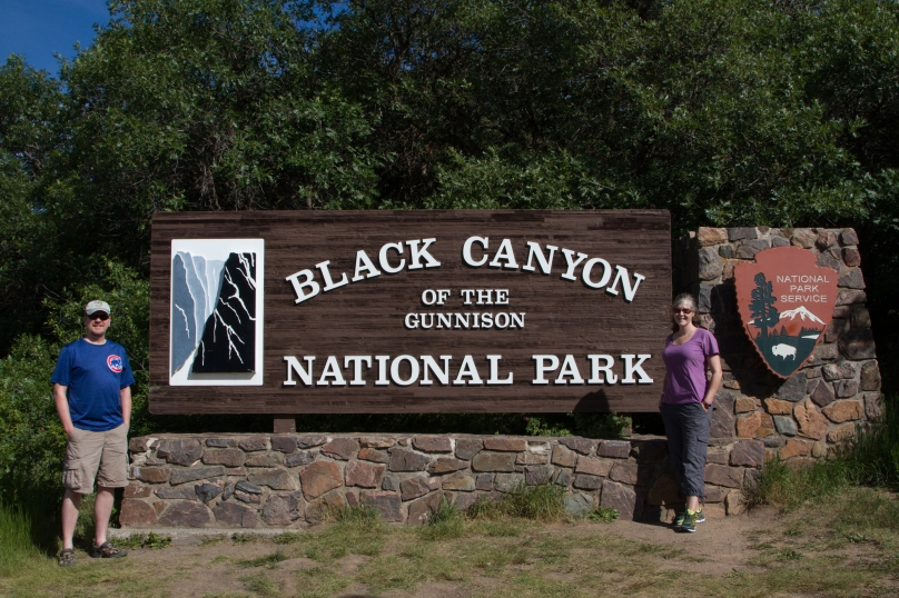 Black Canyon NP, our 43rd!