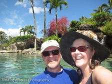 In the pool at Hanalei Bay Resort