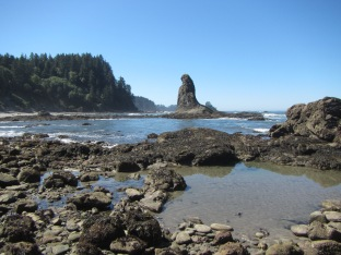 Heading toward Cape Alava