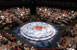 The Oregon Shakespeare Festival. 2000. Macbeth audience shot. Photo: David Cooper.