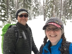 Snowshoeing Government Camp