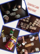We spent HOURS playing cards and games!