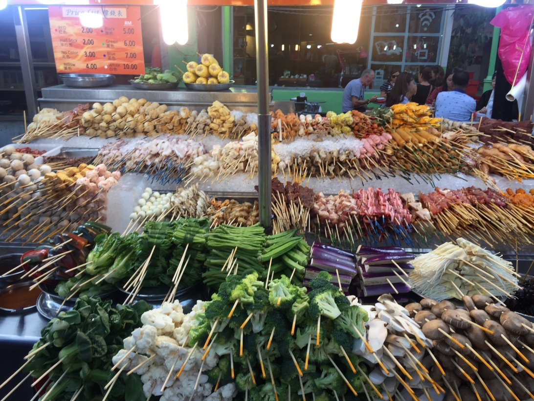 Jalan Alor food stall, Kuala Lumpur