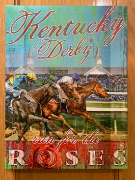 Kentucky Derby museum poster