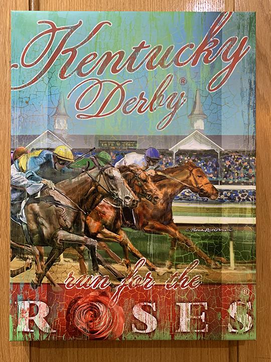 Kentucky Derby museum poster