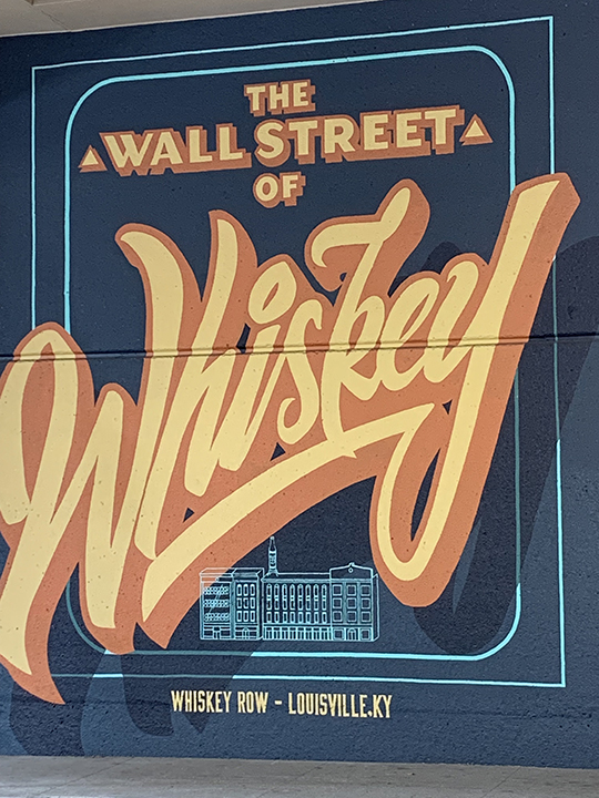 Wall Street of whiskey